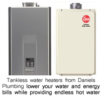 tankless water heater in houston, the woodlands, spring, tomball